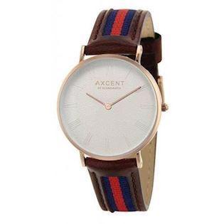 Axcent of Scandinavia Career rosa forgyldt rustfri stål Quartz Unisex ur, model IX5720R-07